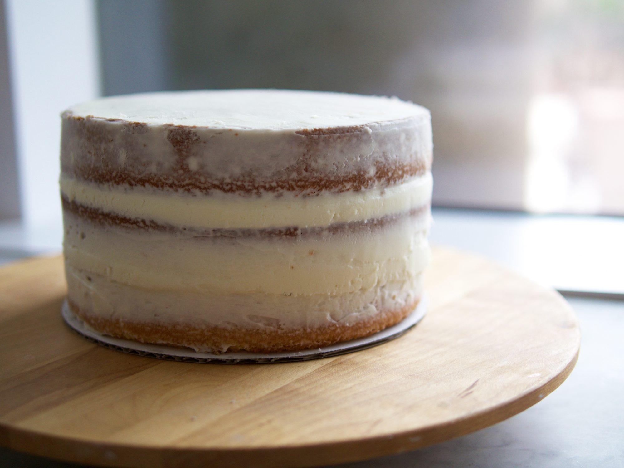 Basic Cake Decorating Techniques basic naked cake recipe | myrecipes