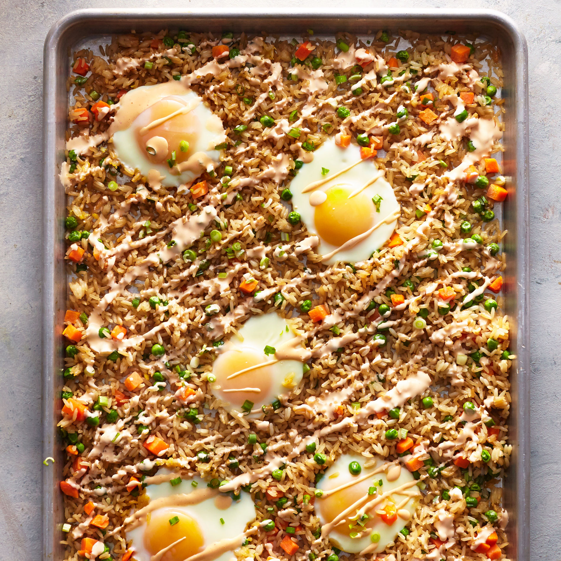 Sheet Pan Fried Rice image