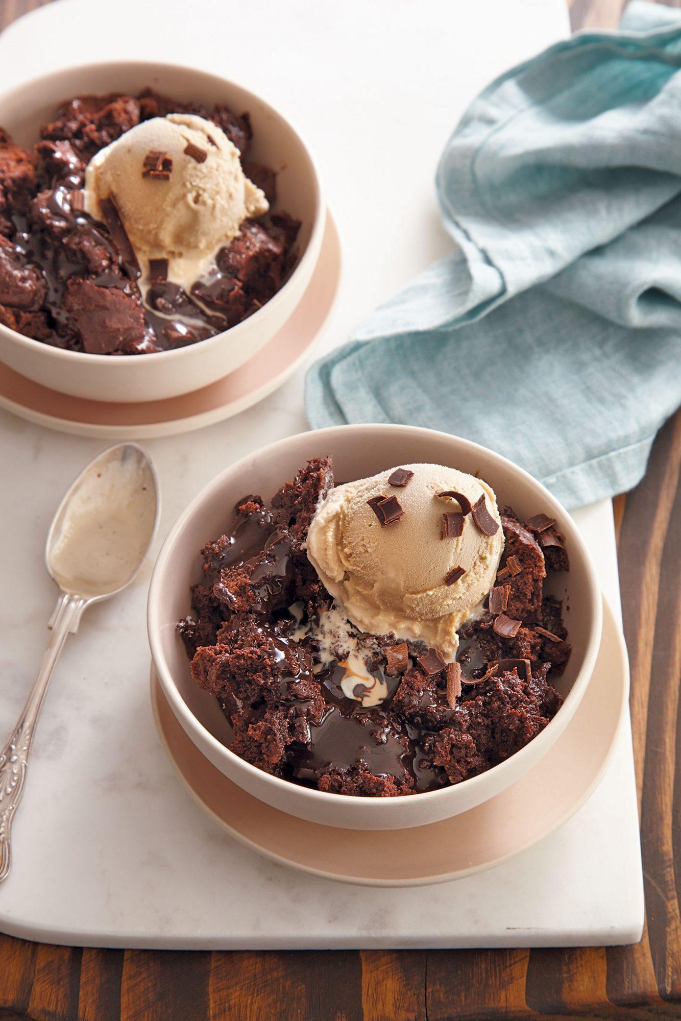 Chocolate Espresso Pudding Cake Recipe MyRecipes