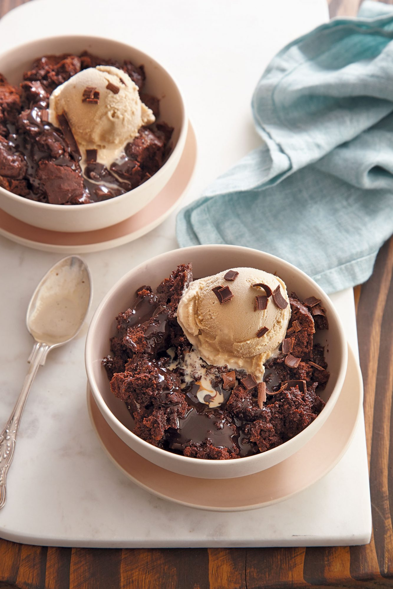 Chocolate-Espresso Pudding Cake image