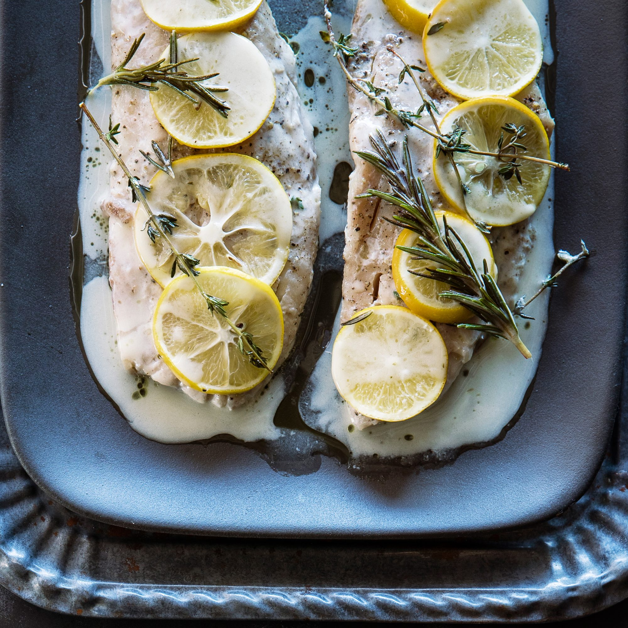 Steamed Rockfish with Herbed Beurre Blanc