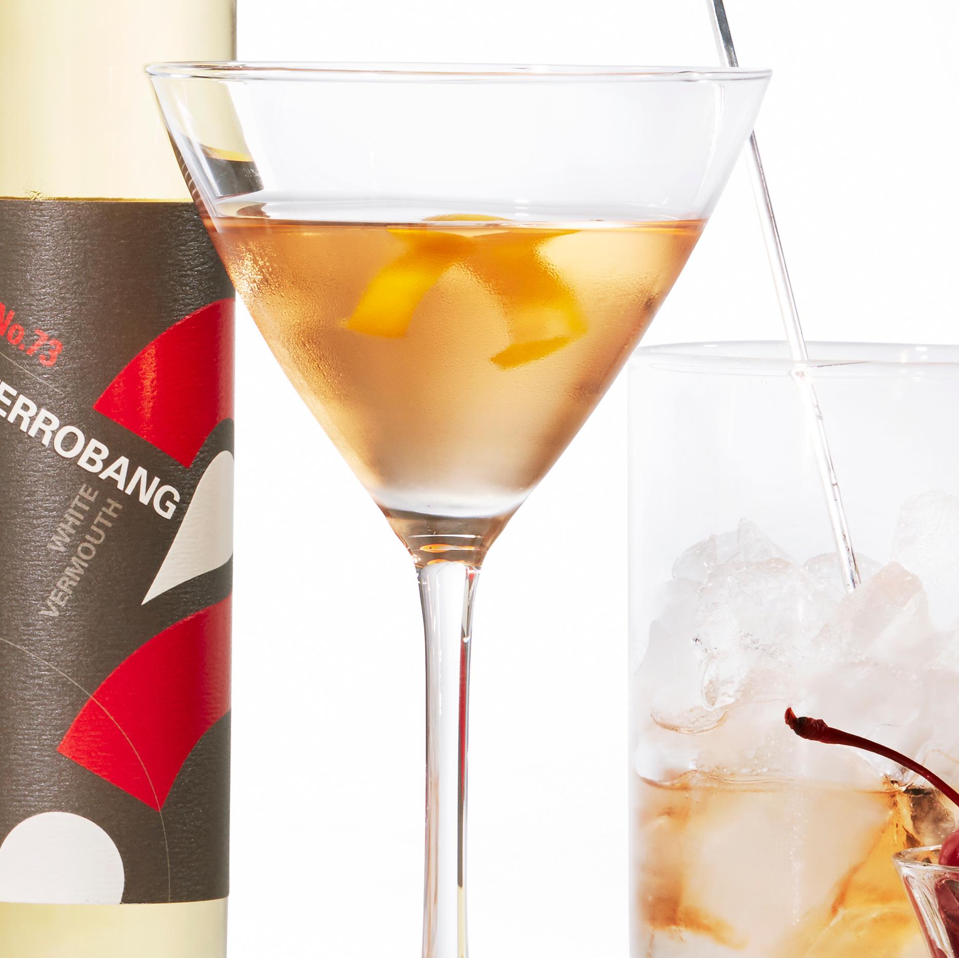 su-Upside-Down Martini