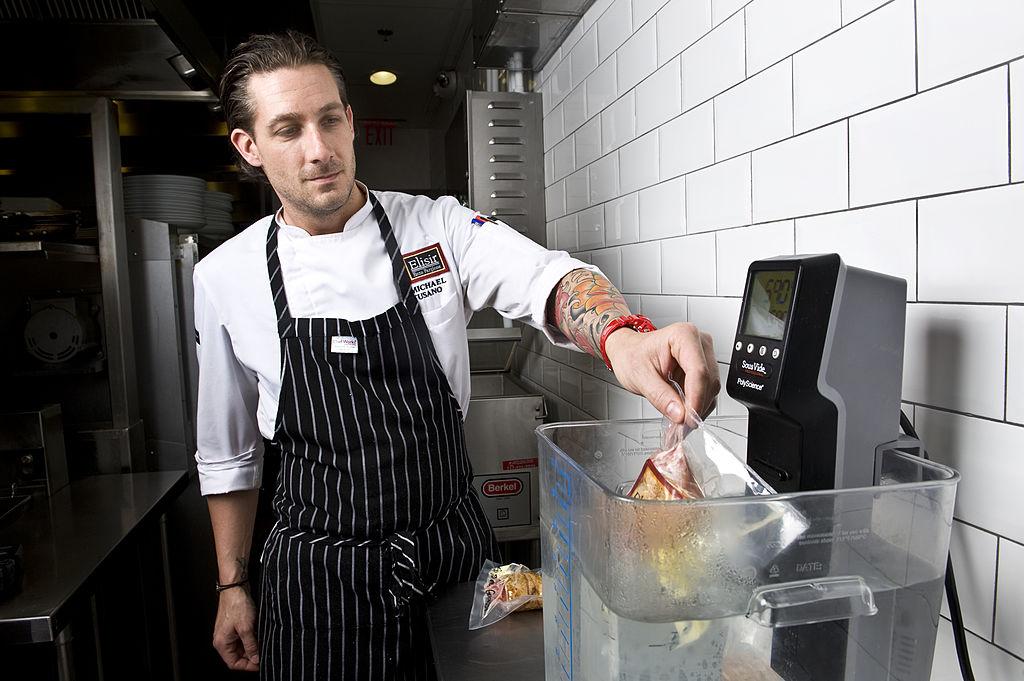 Chef and Sous Vide Technique image