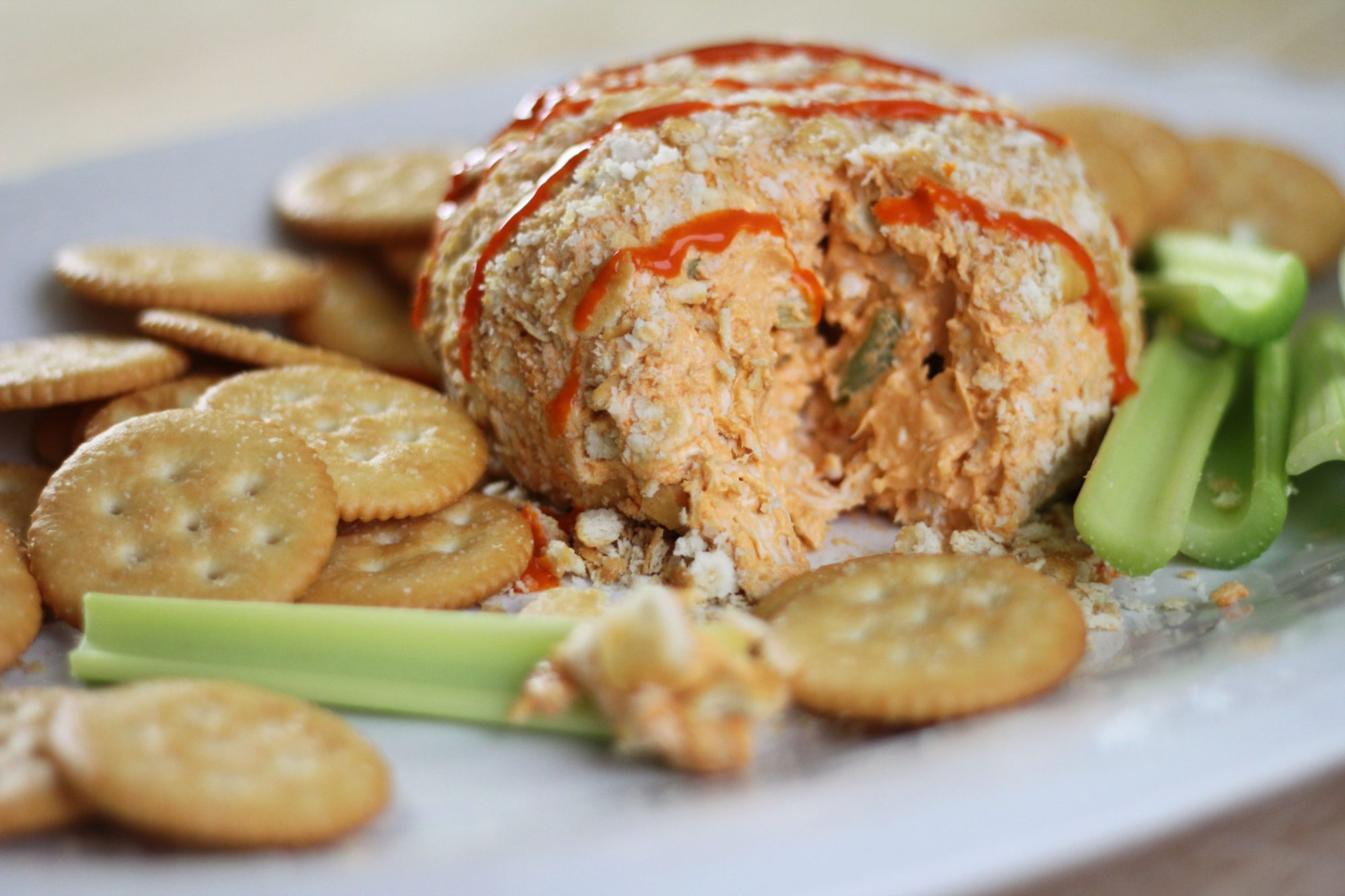 Buffalo Chicken Cheese Ball image