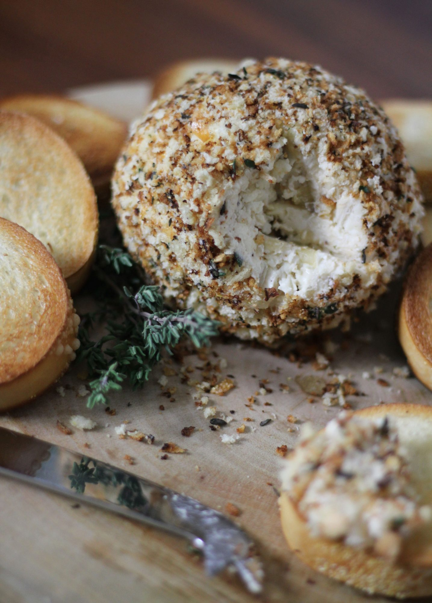 French Onion Cheese Ball image