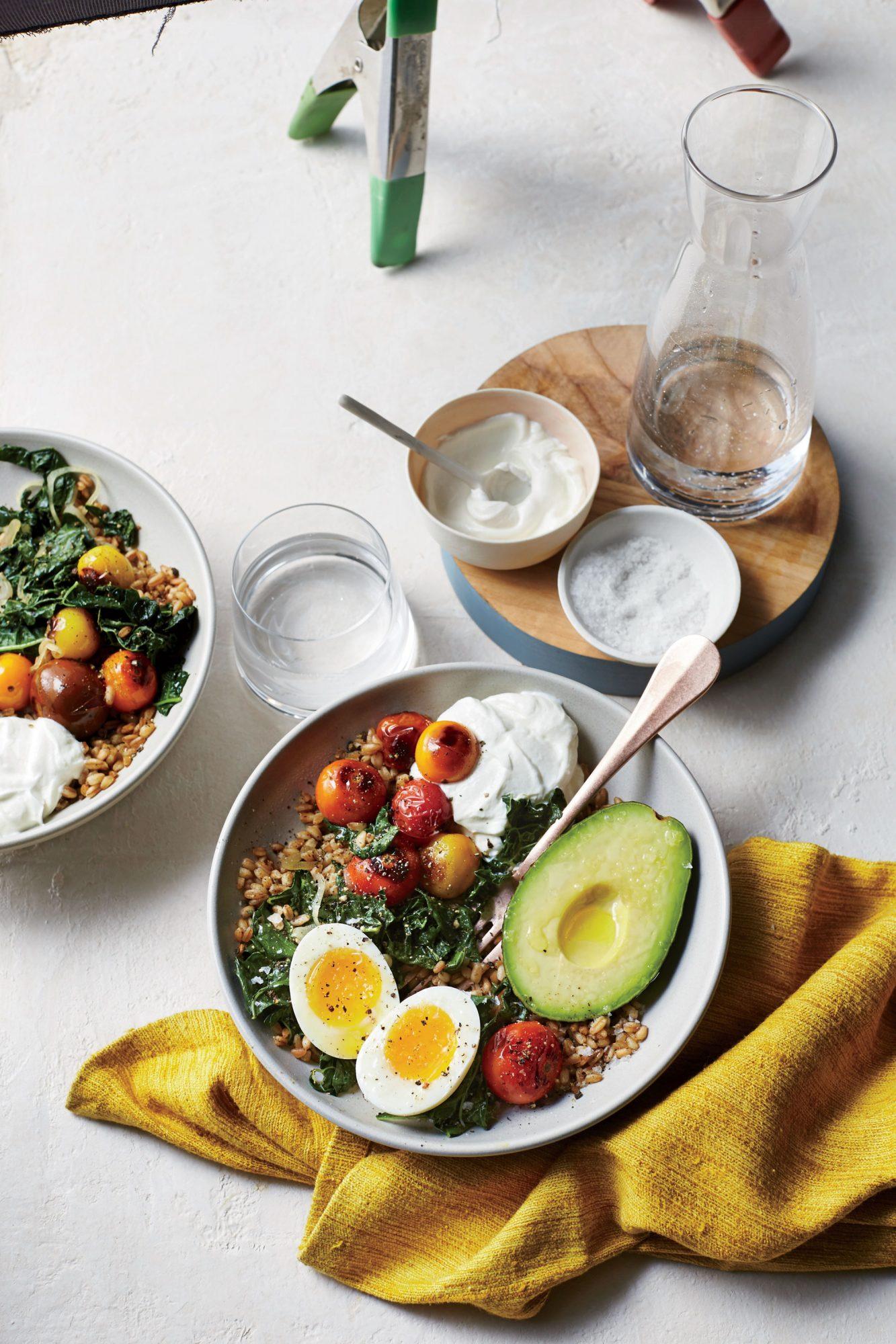Farro Breakfast Bowl image