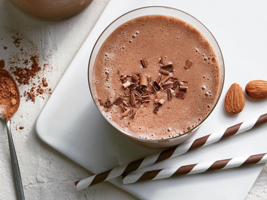 Rich Dark Chocolate Smoothie