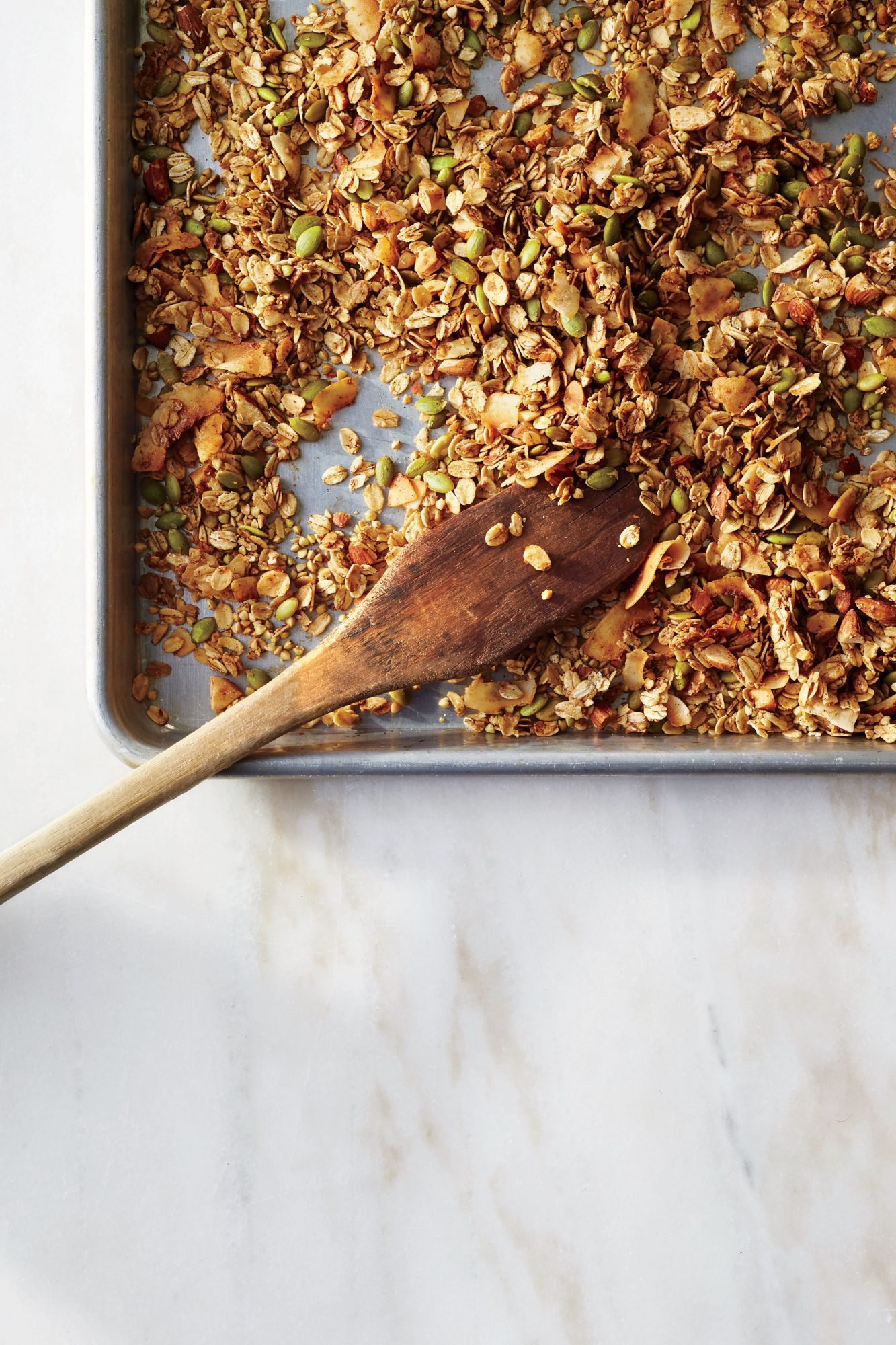 Coconut Buckwheat Granola
