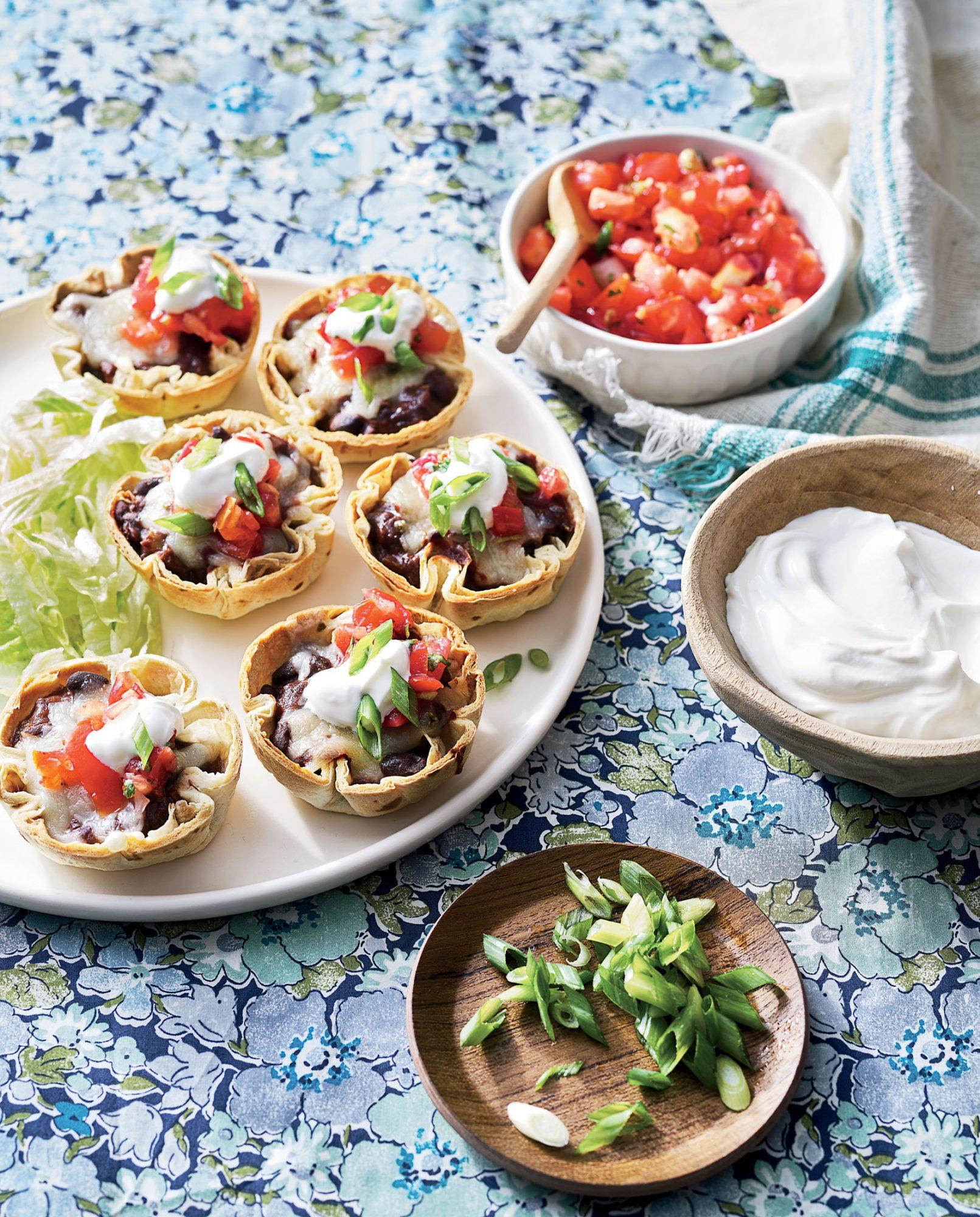 Mini Black Bean and Cheese Enchiladas image
