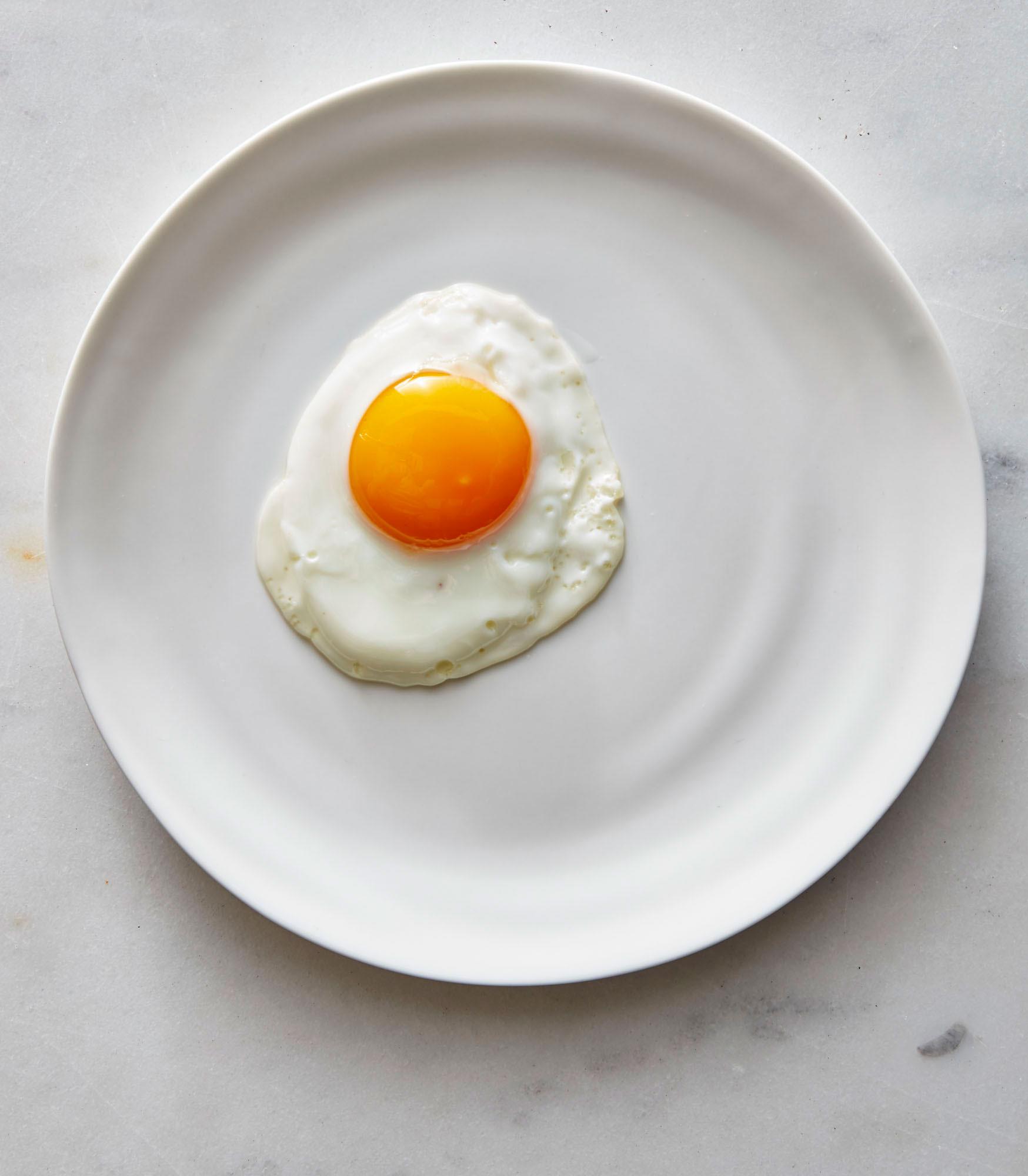 Pristine Sunny-Side Up Eggs image
