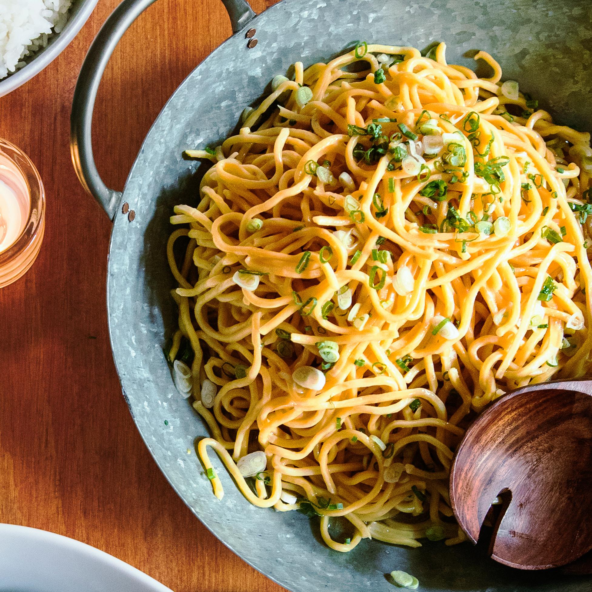 Calamansi and Green Onion Pancit