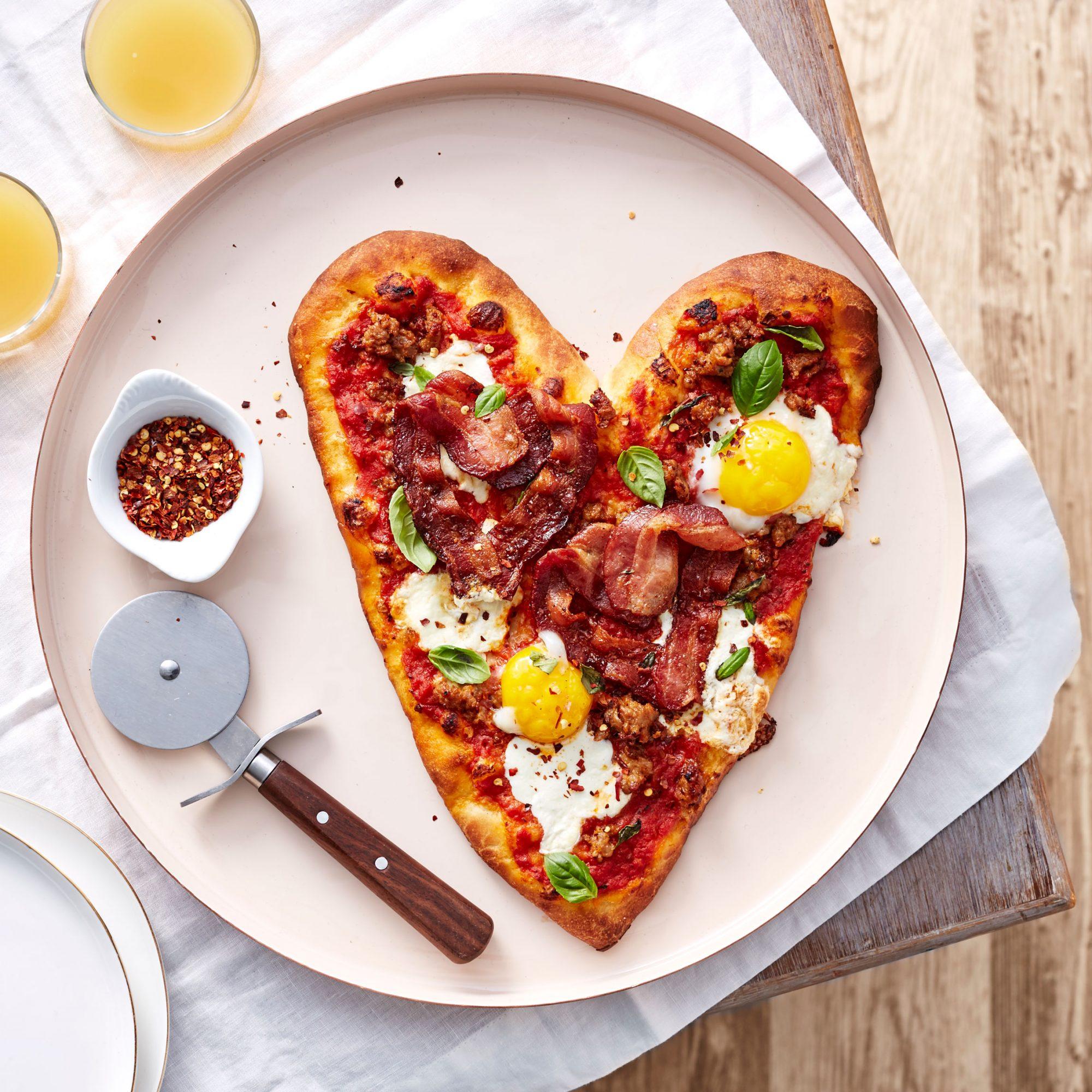 Be-Still-My-Heart Breakfast Pizza image