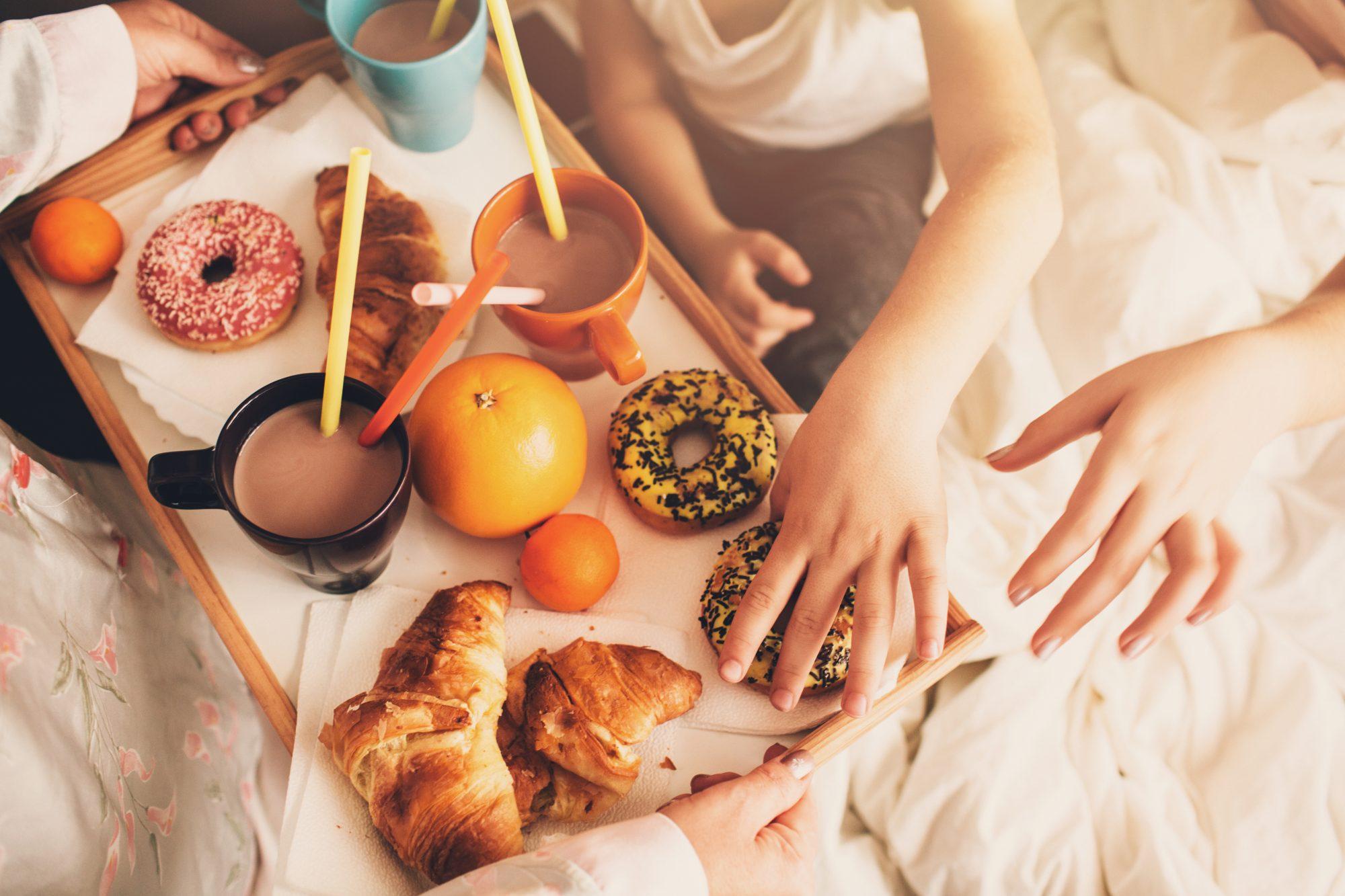 Breakfast in Bed Hands
