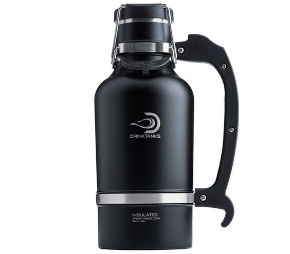 DrinkTanks Vacuum Insulated Stainless Steel Beer Growler