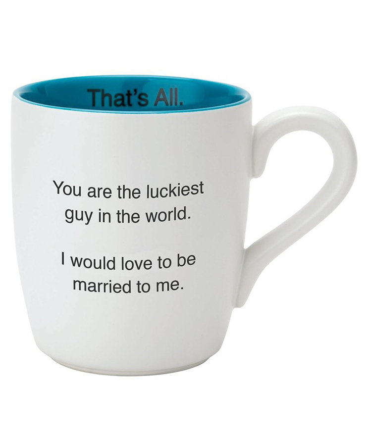 'Luckiest Guy – That's All' Mug