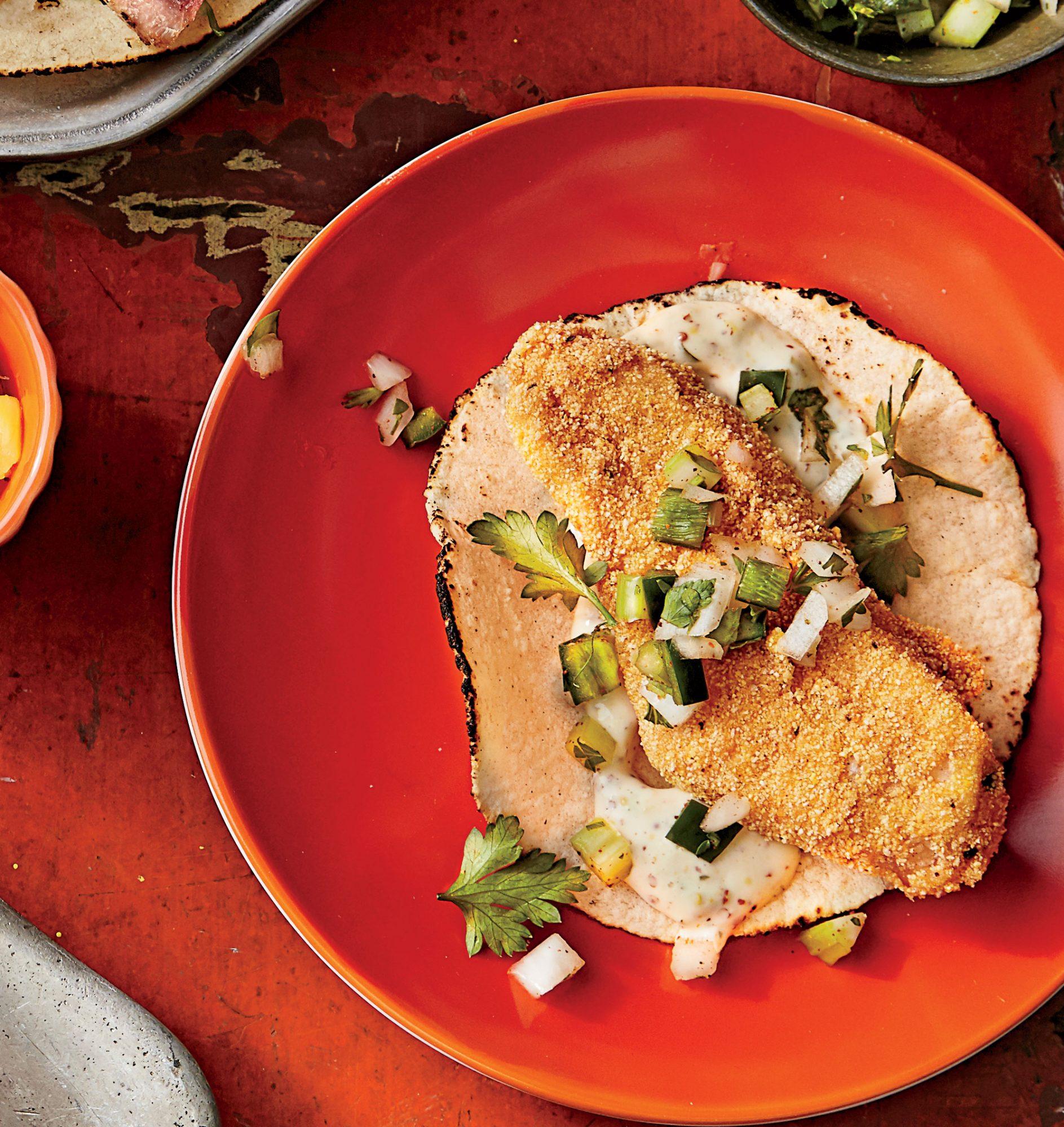 Big Easy Fried Catfish Tacos image