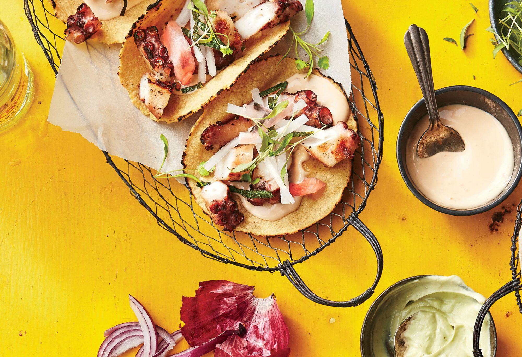 Japanese Tako Tacos image