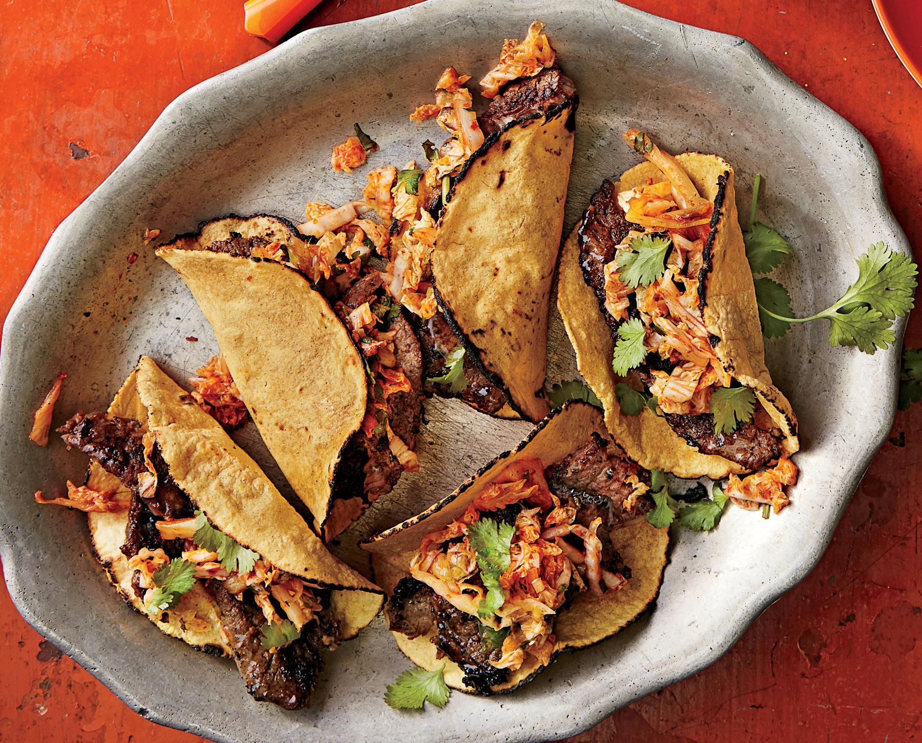L.A. Korean Short Rib Tacos Recipe   MyRecipes