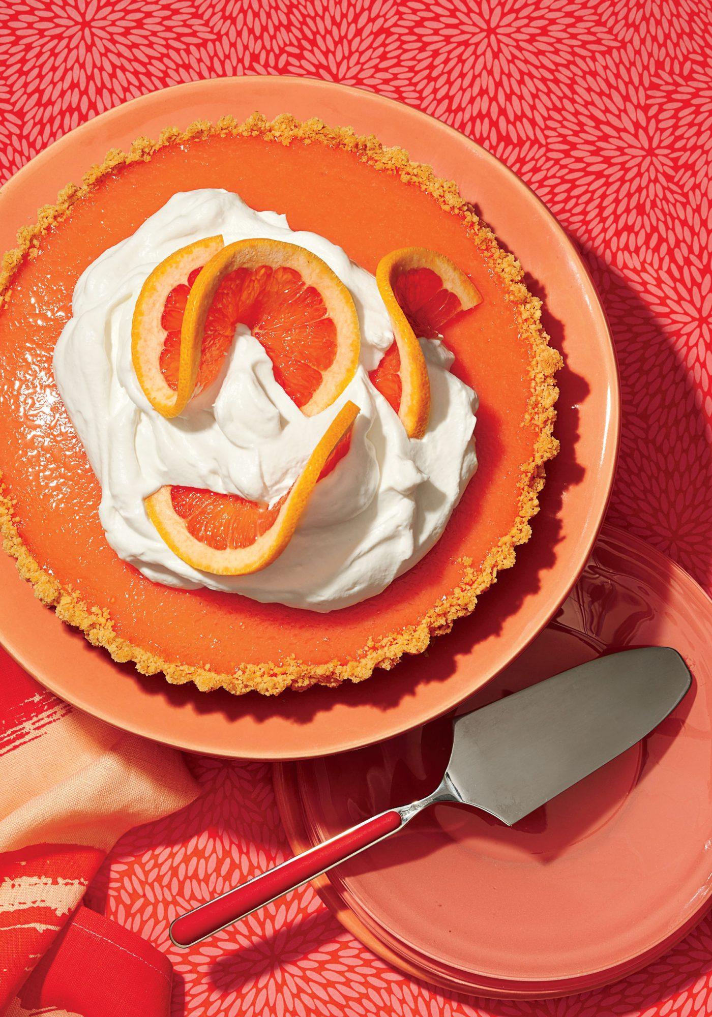 Grapefruit Tart image