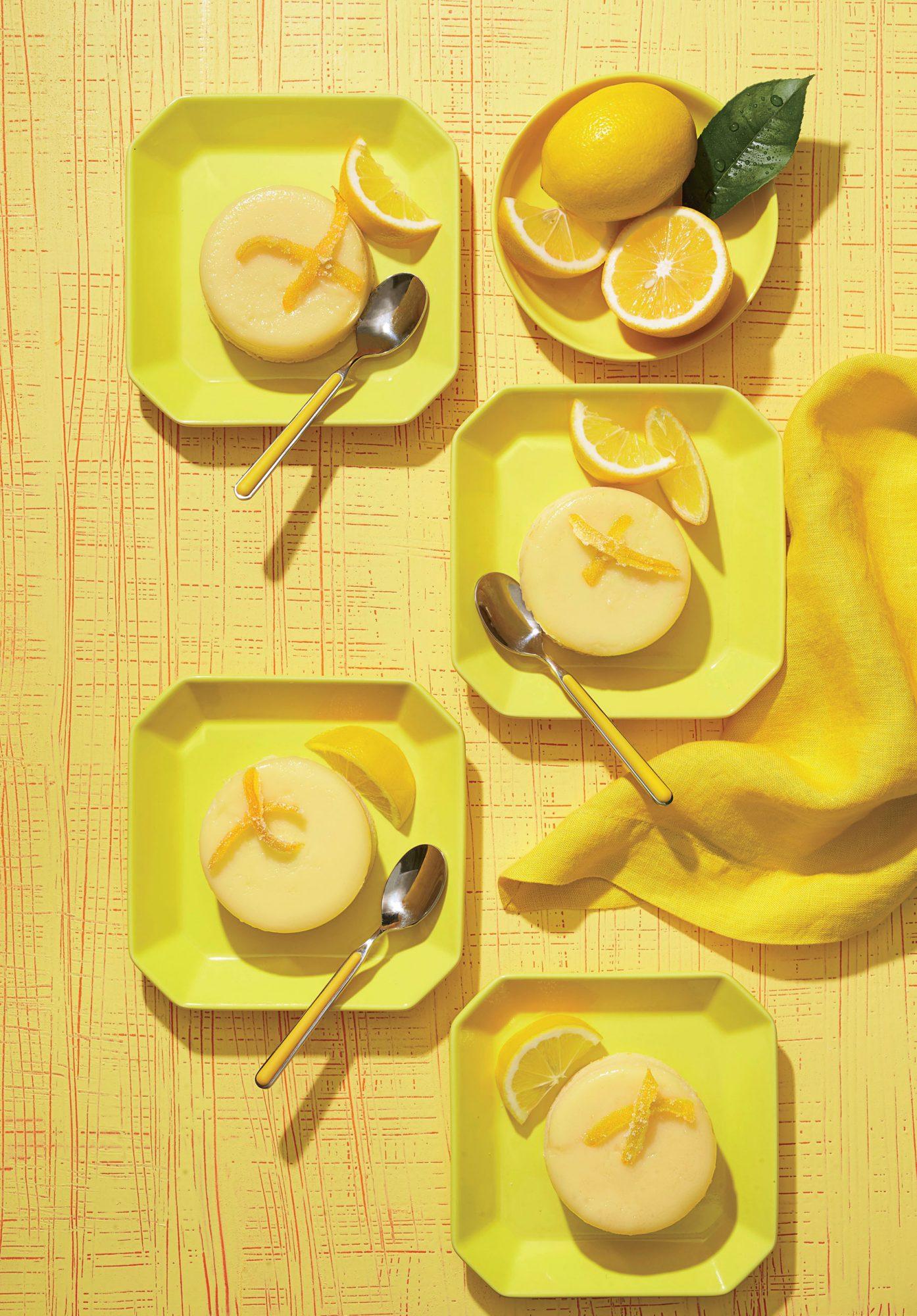 Meyer Lemon Sponge Pudding image