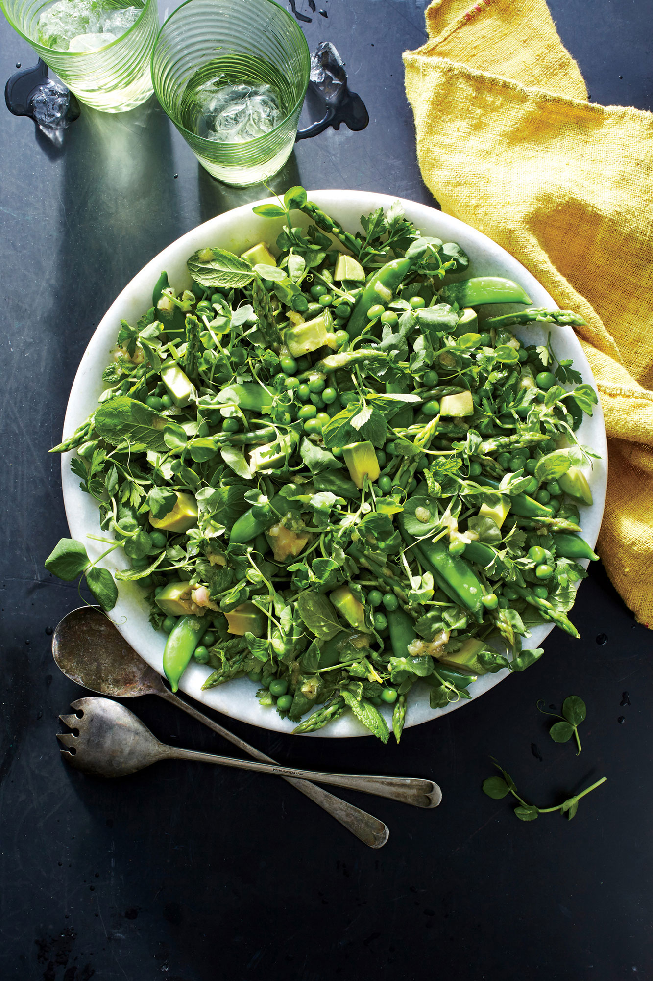 All the Green Things Salad