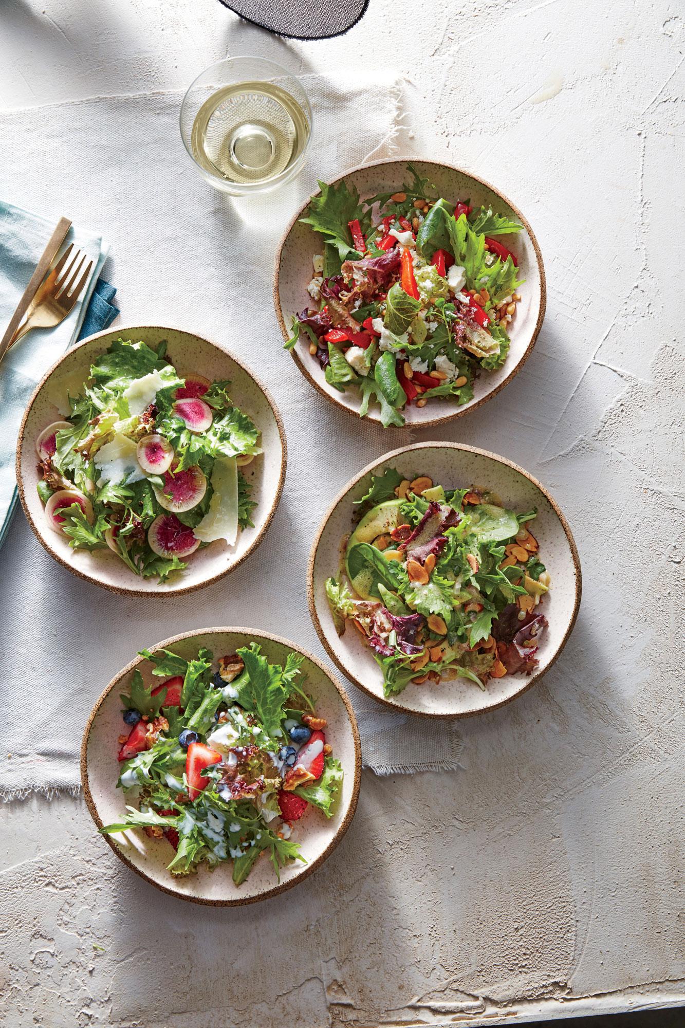 Avocado and Almond Salad