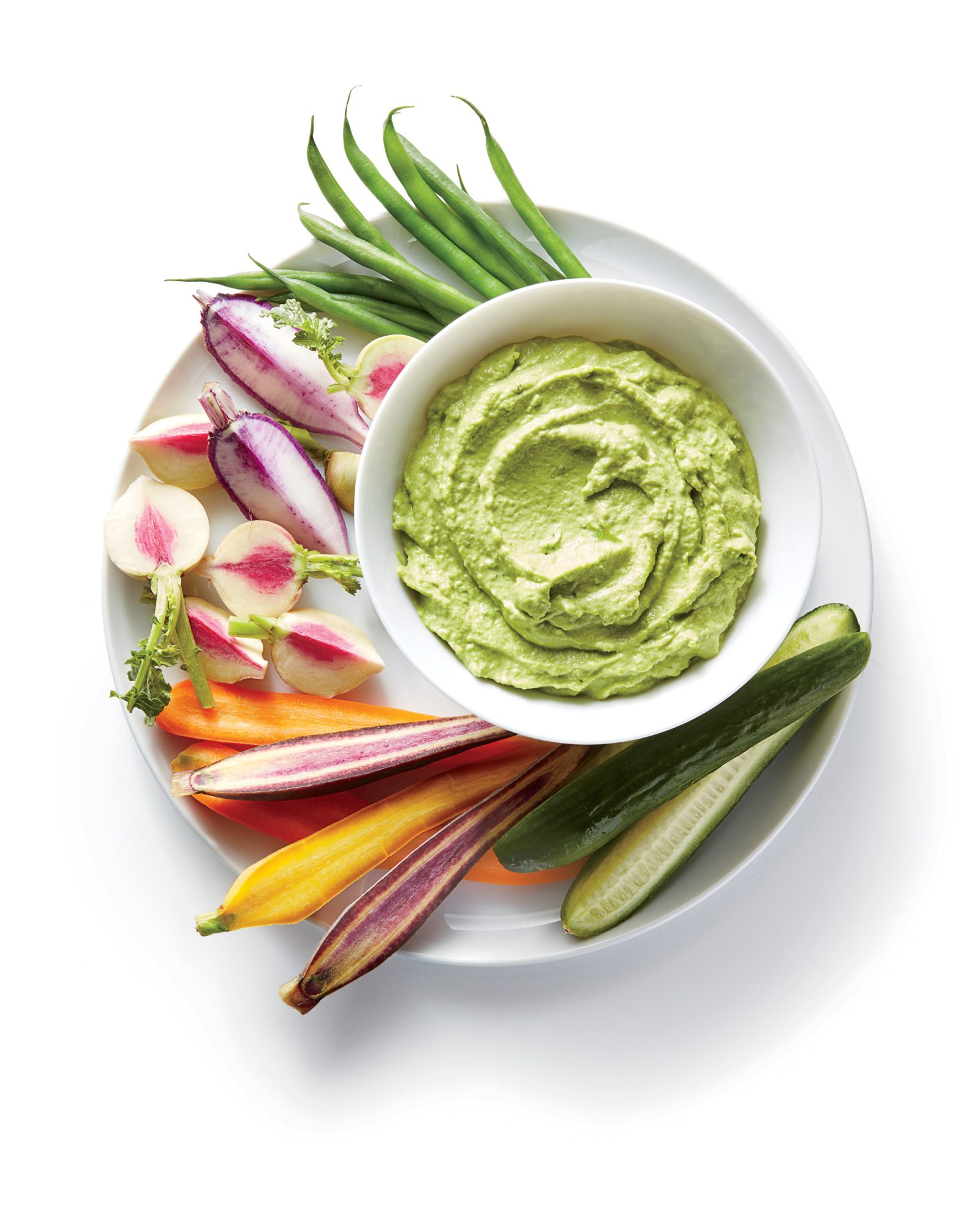 Green Pea and Parsley Hummus