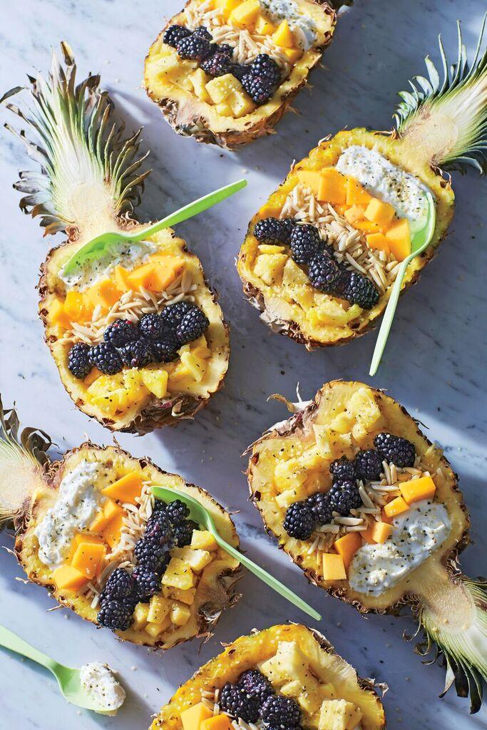 Pineapple-Mango Breakfast Bowls image