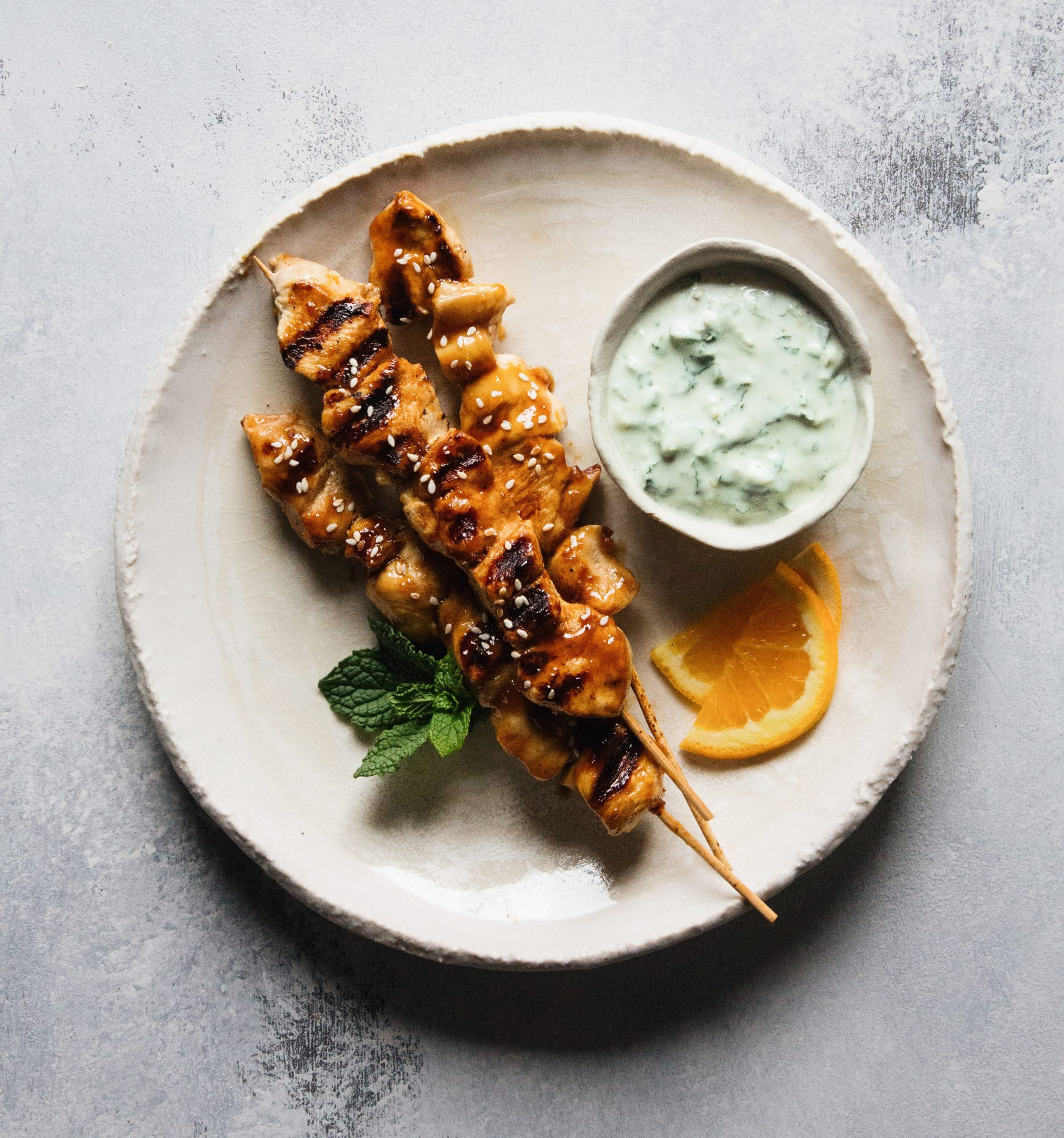 mr-orange-chicken-skewers-with-jalapeno-mint-yogurt-dip-image
