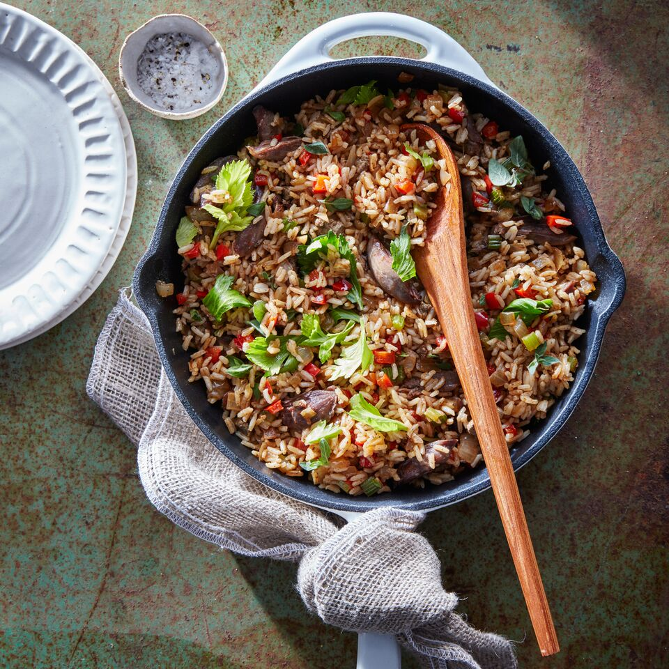 Duck Confit Dirty Rice Recipe