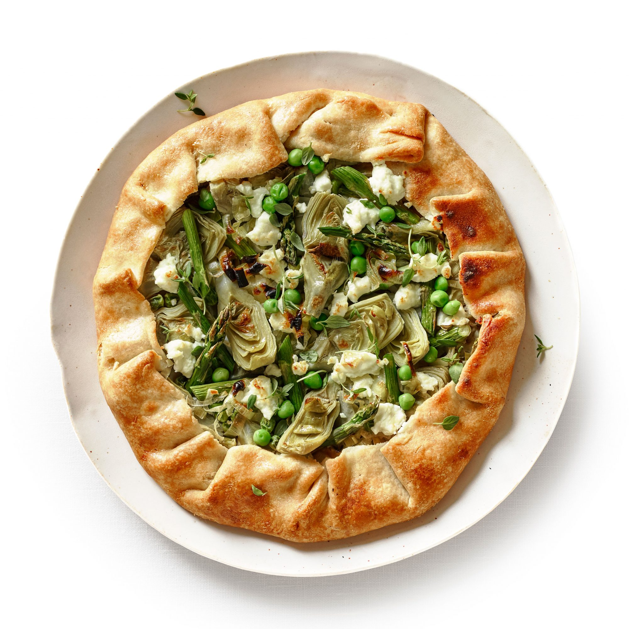 Savory Spring Galette image