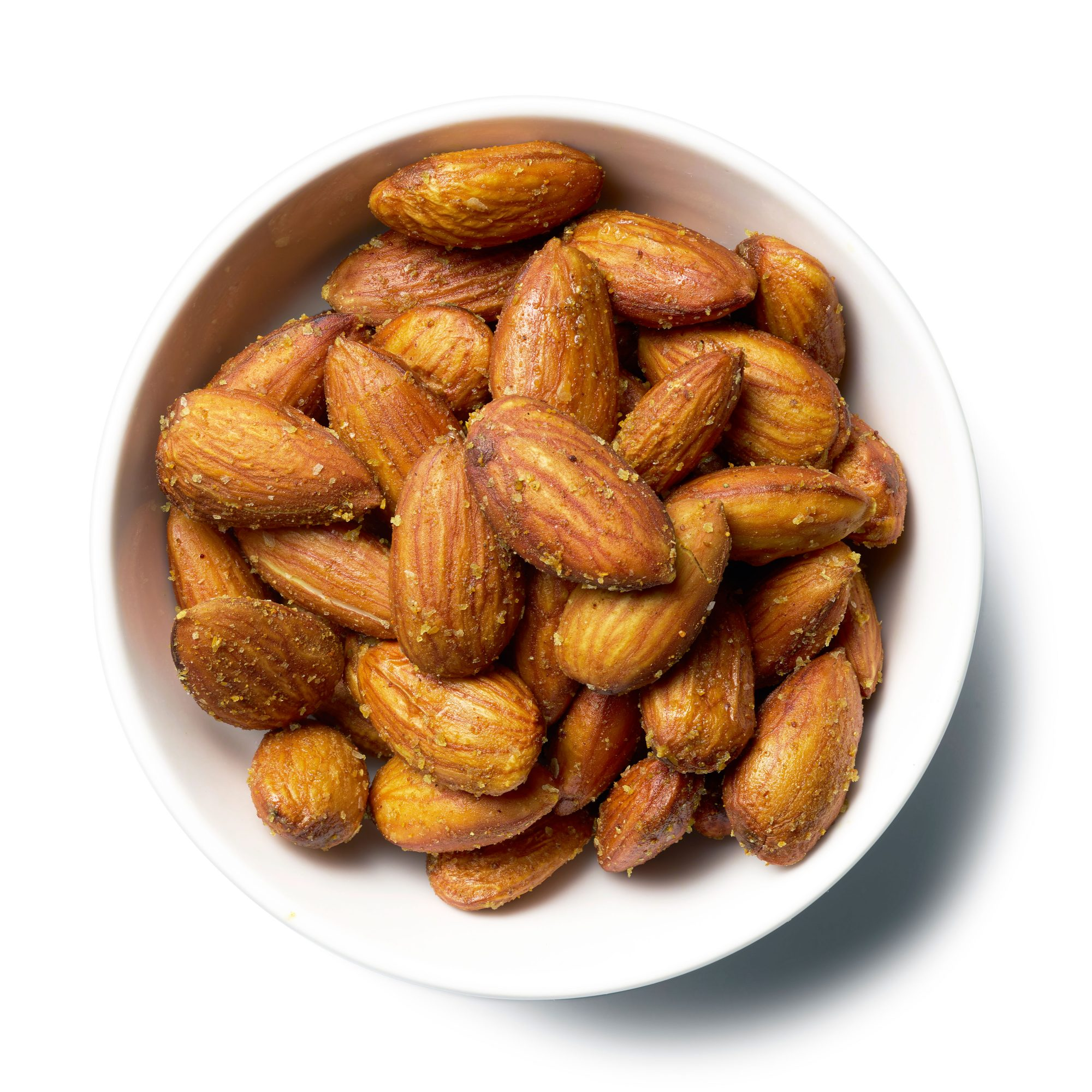 Microwave Curried Almonds
