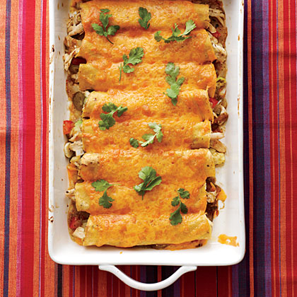 Chicken Verde Enchiladas Recipe