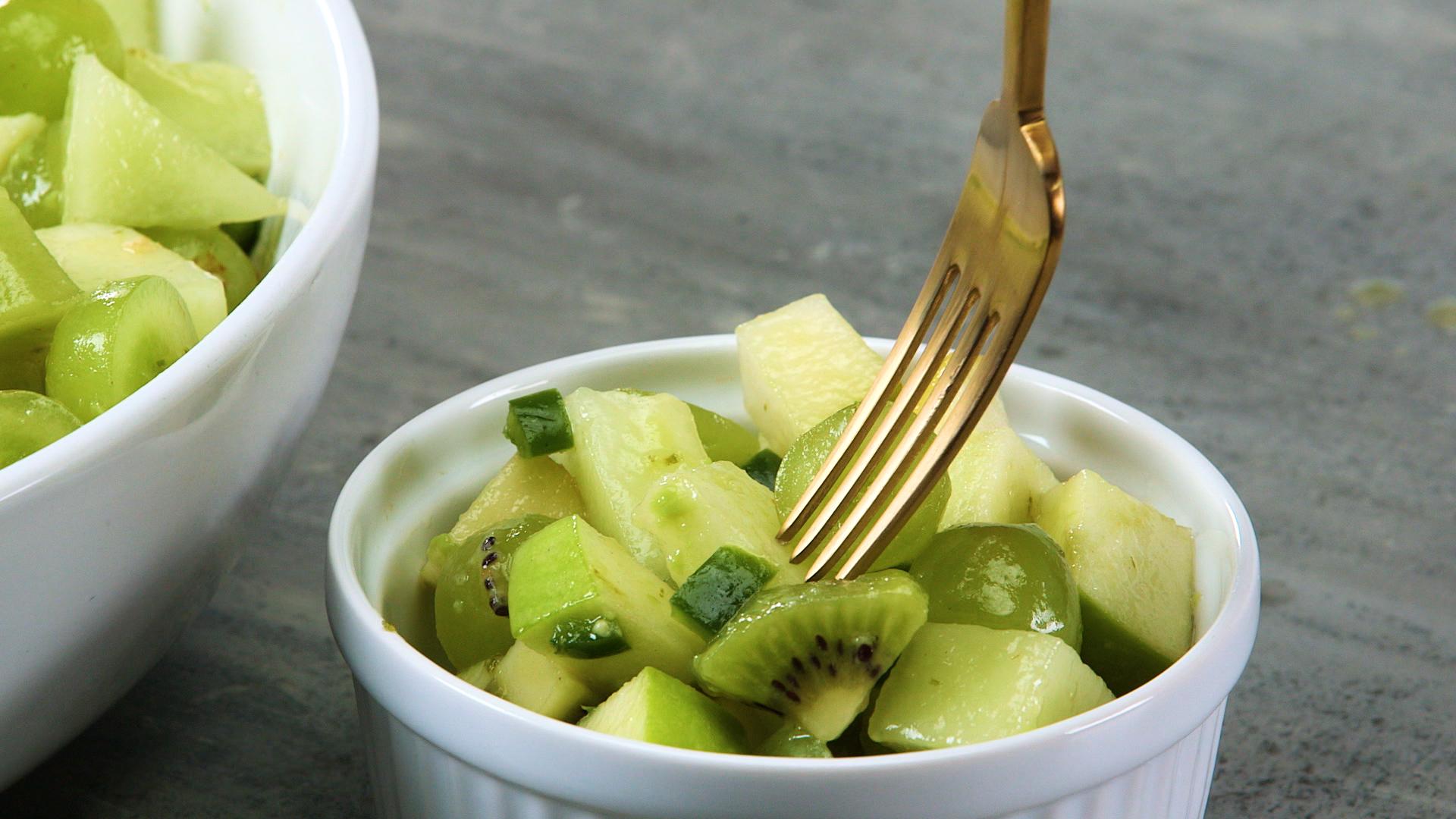 Great Green Fruit Salad image