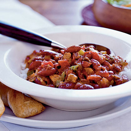 Cajun Red Beans and Rice Recipe | Myrecipes
