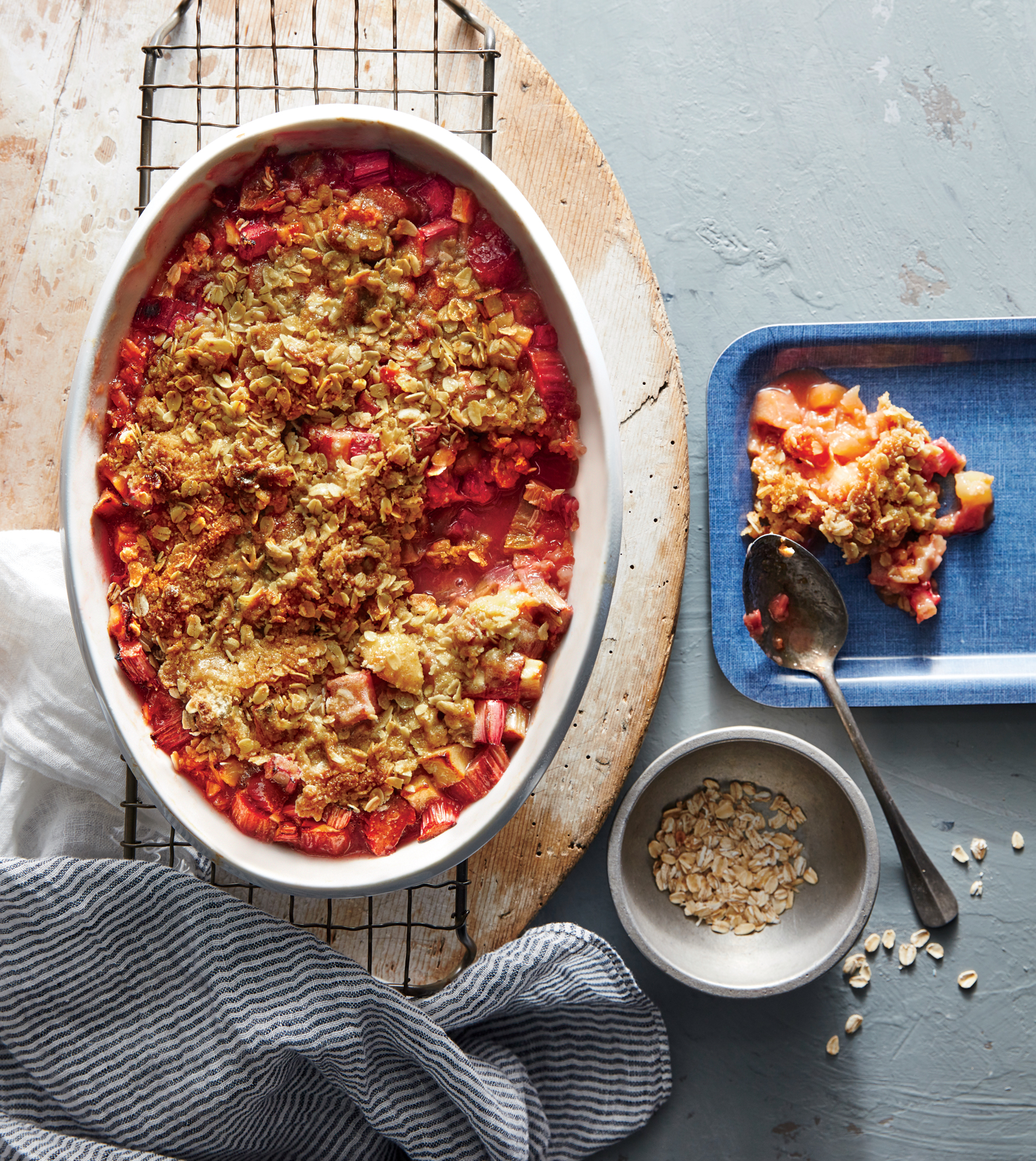 Mom's Rhubarb-Apple Crisp