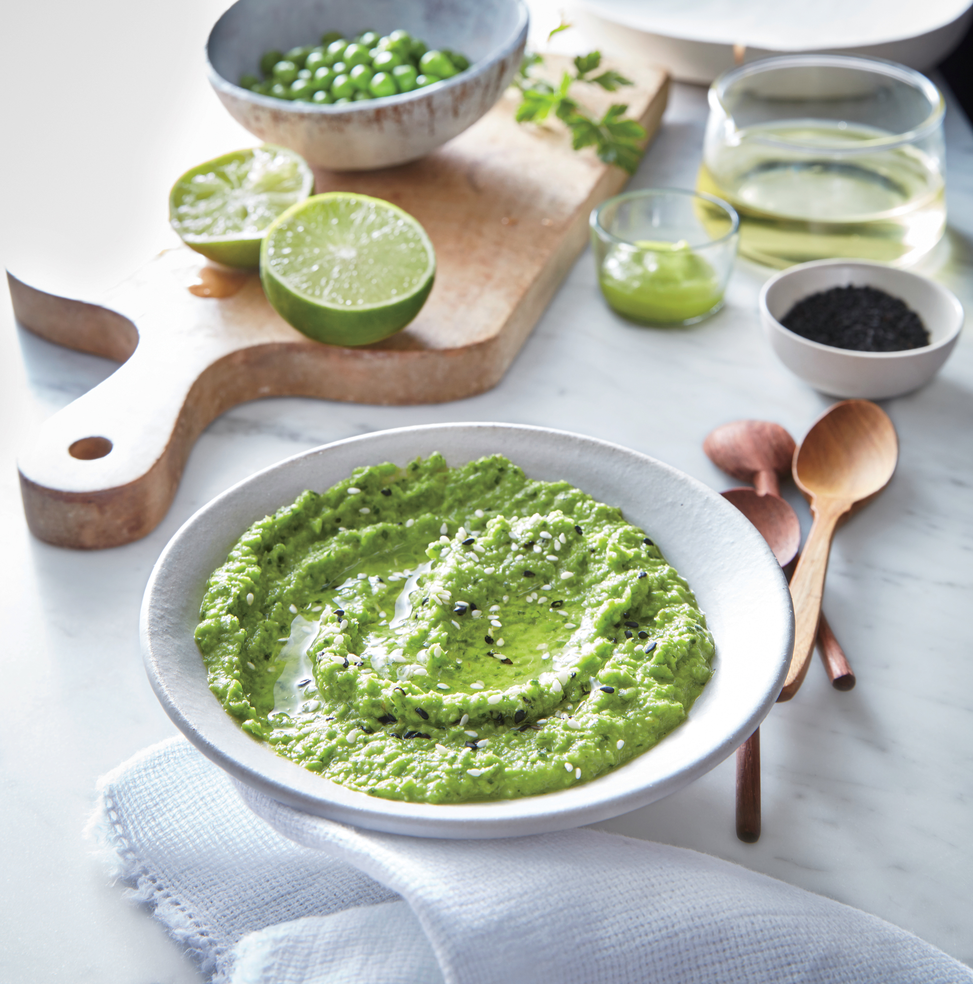 Pea and Wasabi Dip