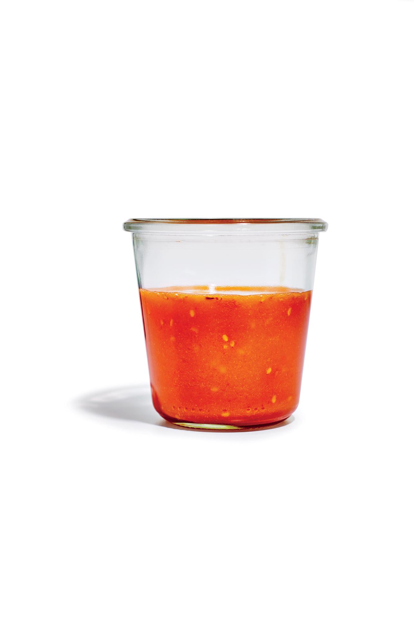 Spicy Soy Vinaigrette