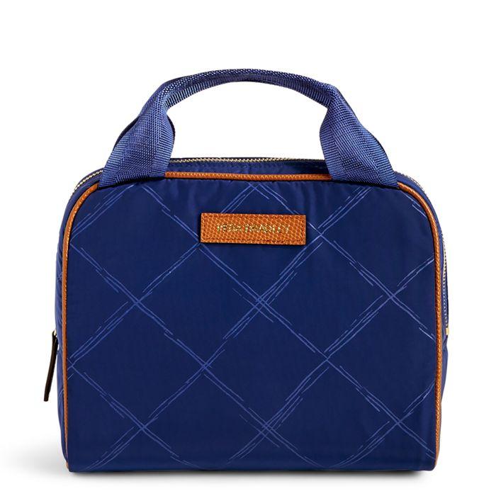 Navy Lunch Cooler Bag Vera Bradley Image