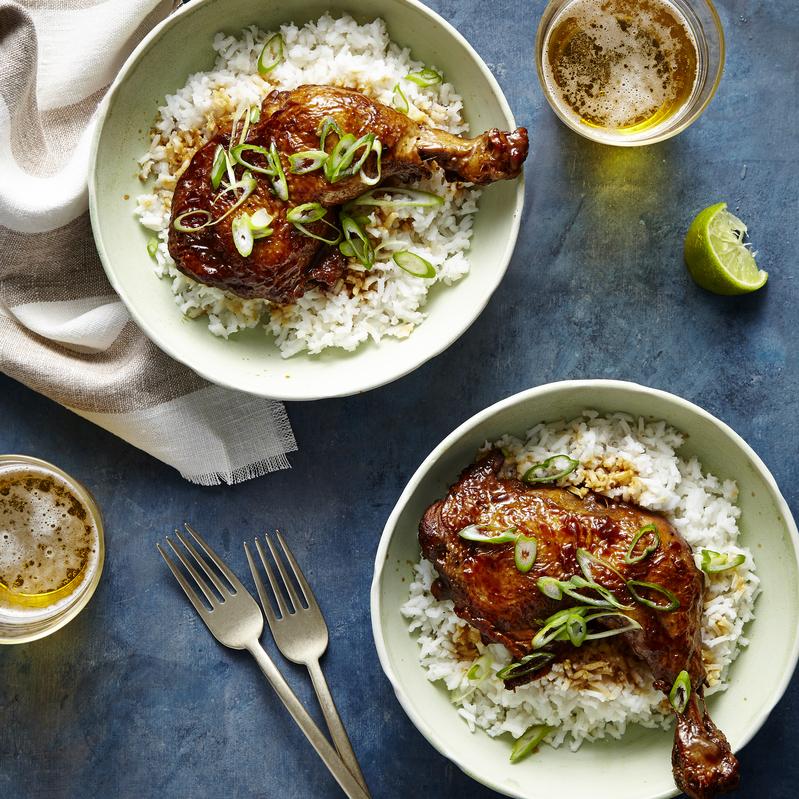 Pressure-Cooker Chicken Adobo image