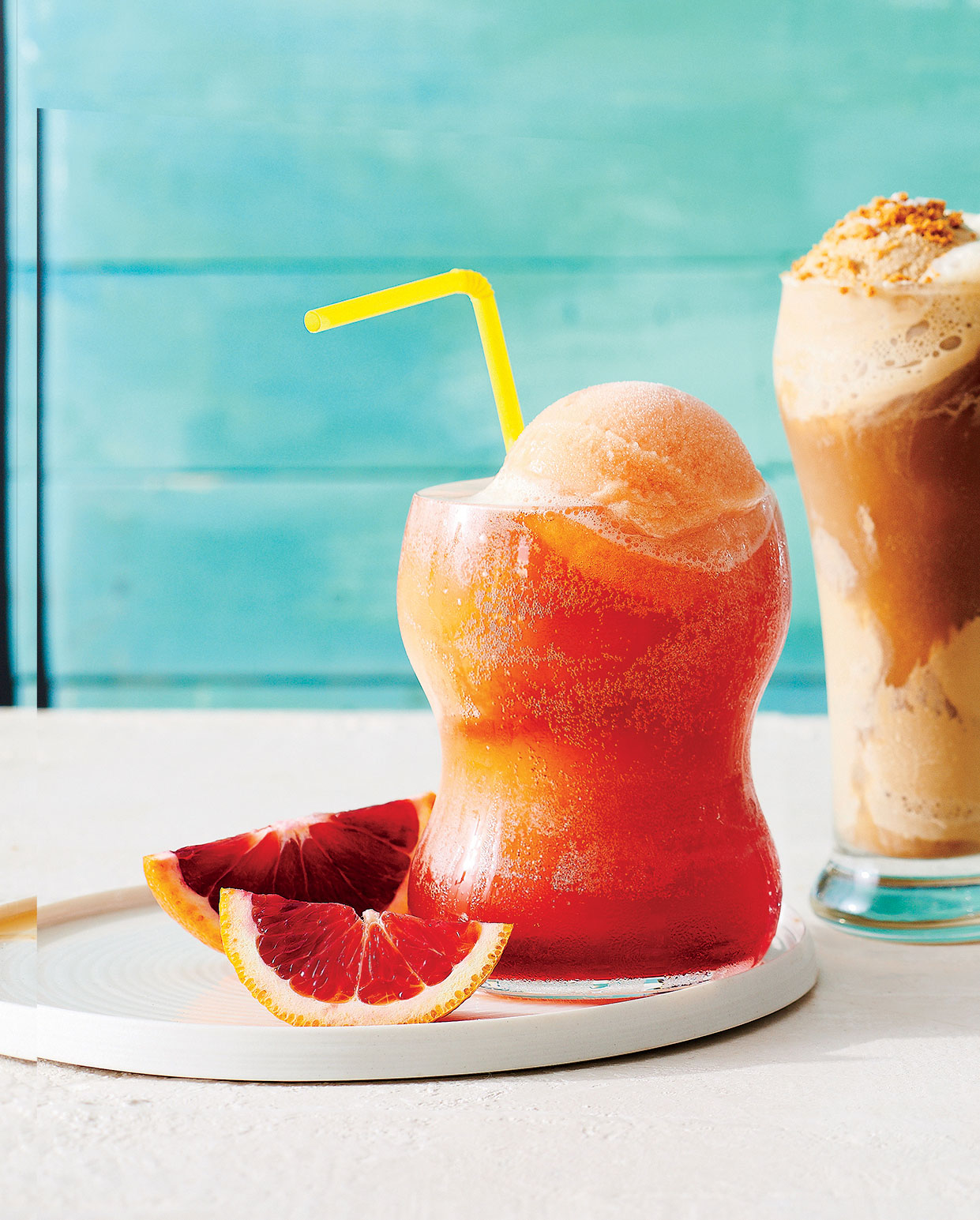 Campari Orange Cream Float image