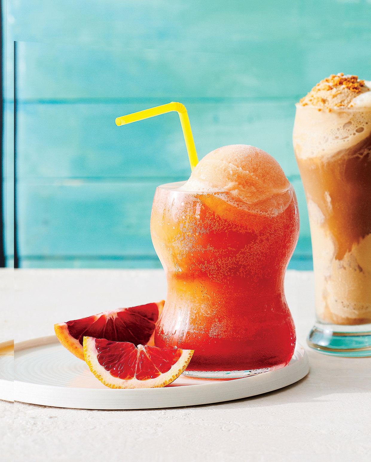 Campari Orange Cream Float image