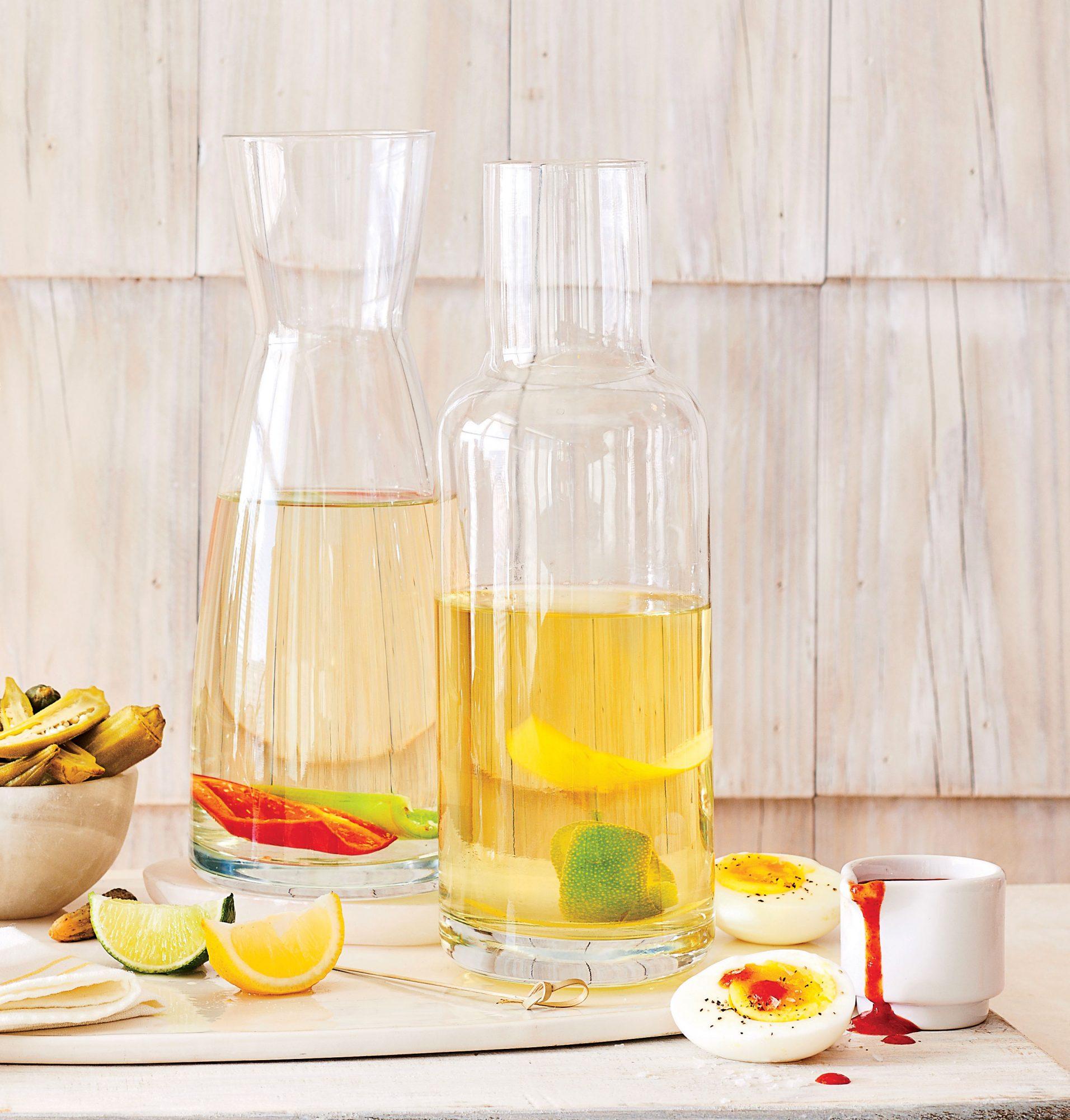 Citrus-Lemongrass Vodka image