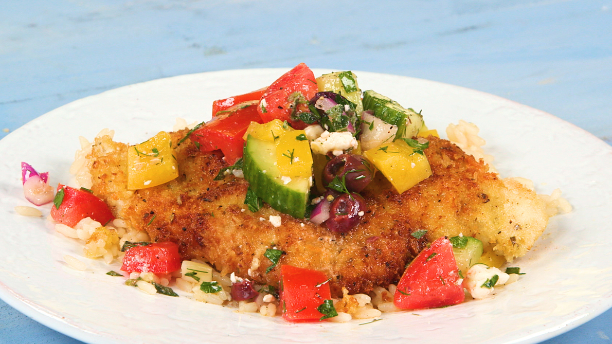 Greek Chicken Cutlets image