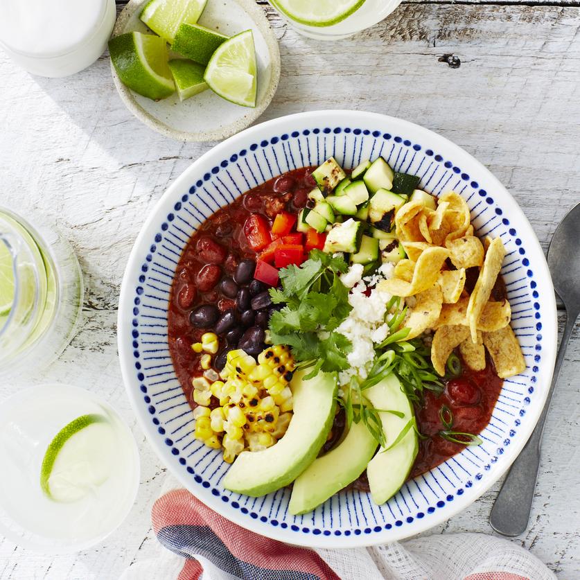 Summer Garden Chili Bowls image