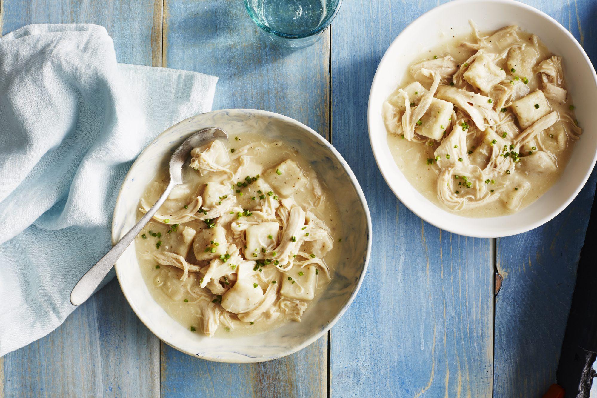 Brunswick Stew; Photographer: Daniel Agee; Food Stylist: Robin Bashinsky; Prop Stylist: Audrey Davis