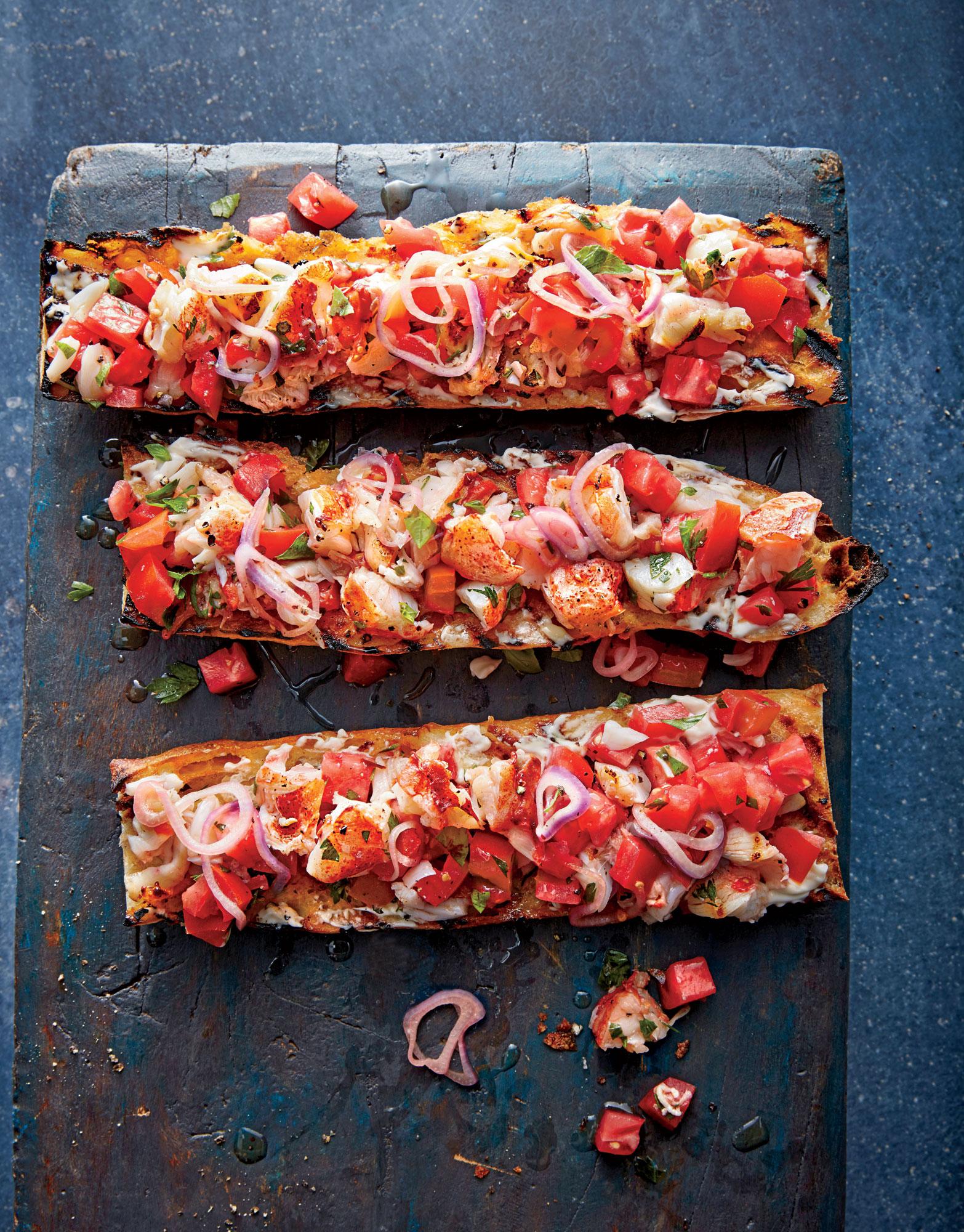 Lobster Roll Bruschetta