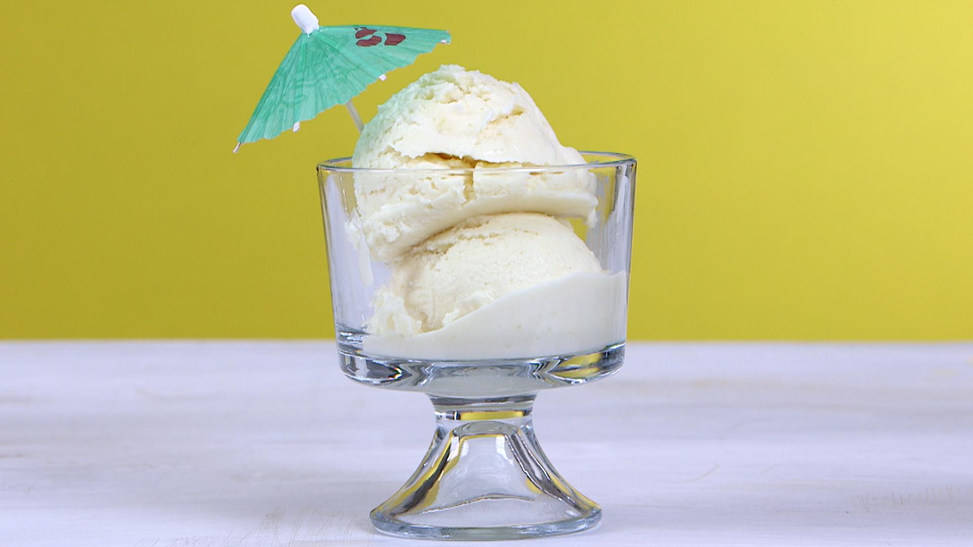 Non-Dairy Piña Colada Sherbet image