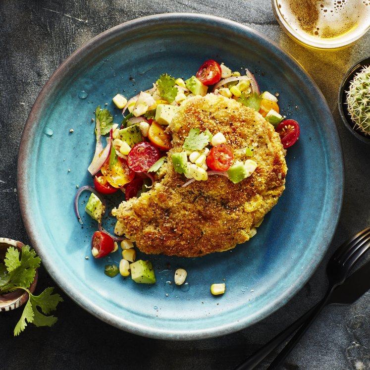 Beef Milanesa with Summer Relish image