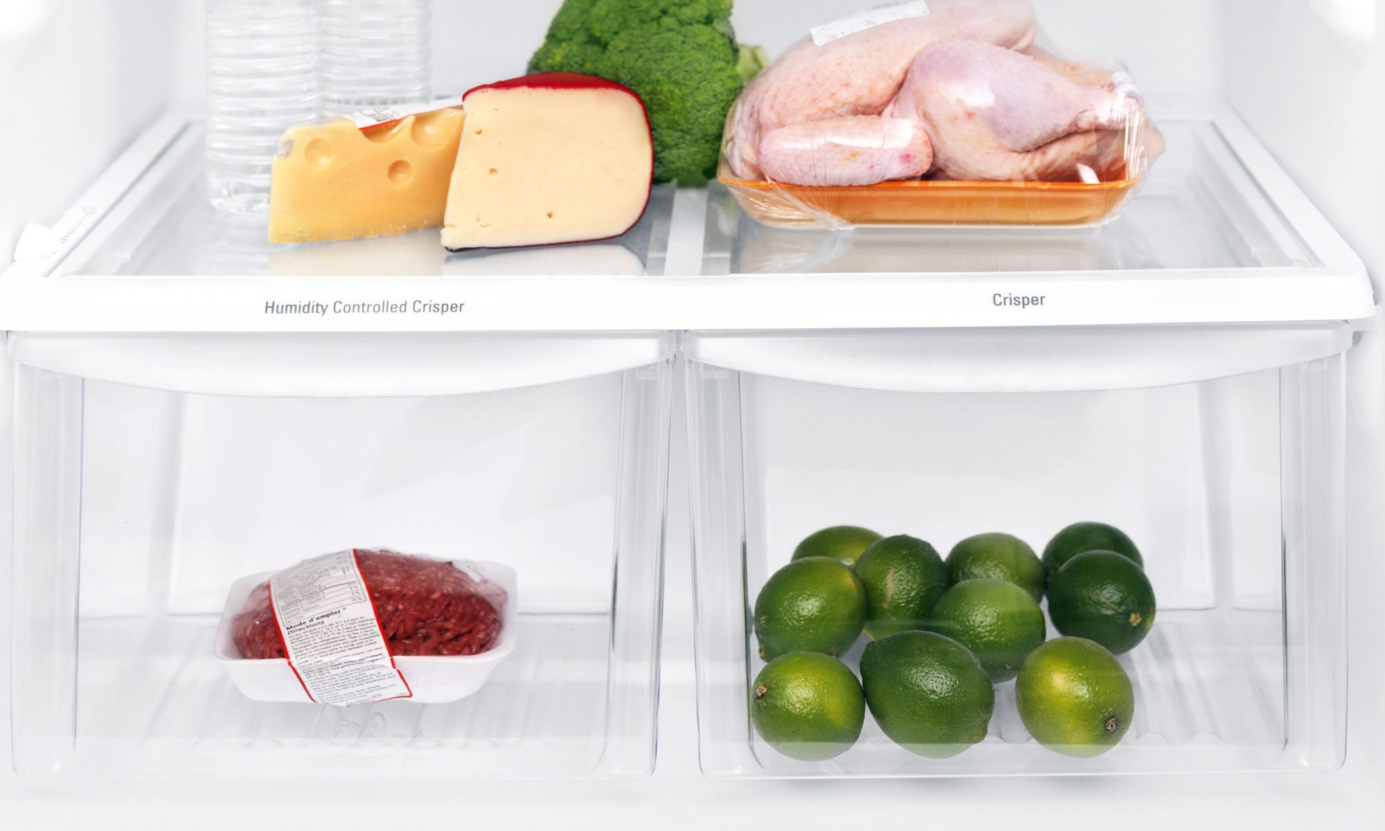 How to Clean Your Refrigerator Drawers
